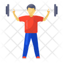 Weight Lifting Fitness Halteres Icon