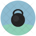 Weight Lifting Kettle Icon