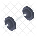 Weight Lifting Dumbbell Icon