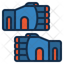 Weight Lifting Gloves Icon