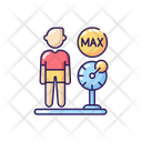 Weight Limit Water Icon