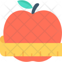 Apple Fruit Weight Icon