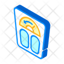 Lost Weight Isometric Icon
