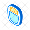 Weight Lost Isometric Icon