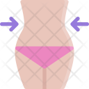 Weight Loss Slim Icon