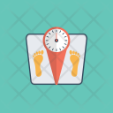 Weighing Scale Bathroom Icon