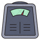 Weight Meter Measure Icon