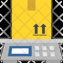 Logistics Delivery Box Icon