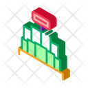 Stand Business Promo Icon