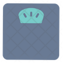 Fitness Gym Scale Icon