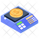 Weight Scale Weight Machine Dollar Weighing Icon