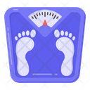 Weight Scale Bathroom Scale Obesity Scale Icon
