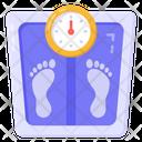 Measuring Instrument Weight Scale Weight Machine Icon
