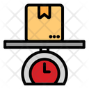 Weight Package Wrong Package Logistic Icon