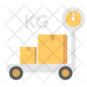 Weight Scale Package Checking Parcel Checking Icon