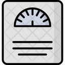 Weight Scale Obesity Scale Bathroom Scale Icon