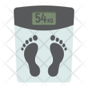 Weight Scale Fitness Icon
