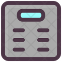 Electronic Scale Weight Icon