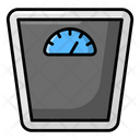 Weight Scale Weight Machine Bathroom Scale Icon