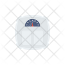 Weight Meter Fitness Icon