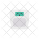 Weight Meter Scale Measure Icon