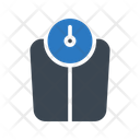 Weight Meter Medical Icon