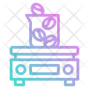 Scale Weigh Digital Icon