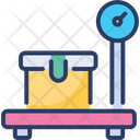 Weight Scale Package Platform Icon