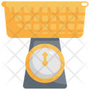Basket Weight Scale Icon