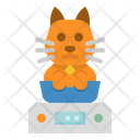 Weight Cat Weinting Icon