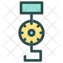 Crane Delivery Shipping Icon