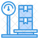 Scale Box Logistics Icon