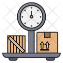 Weight Delivery Shipping Icon