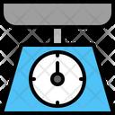 Kitchen Scales Weight Icon