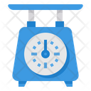 Scale Measuring Weight Icon
