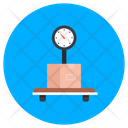 Weight Scale Weight Machine Delivery Weighing Icon