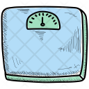 Weight Scale Health Icon