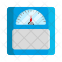 Hospital Weight Scales Medical Icon