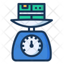 Weight Parcel Scales Icon