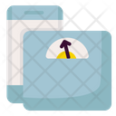 Weight Tracking Weight Track Scale Icon