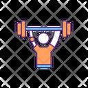 Arm Weightlifting Gym Icon
