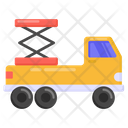Weightlifter Truck Icon