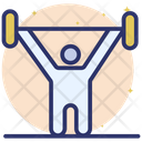 Gym Time Fitness Exercise Dumbbell Icon