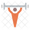 Weightlifting Exercise Gym Icon