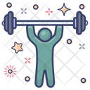 Weightlifting Weight Tool Powerlifting Icon