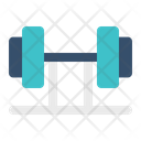 Weightlifting Dumbbell Powerlift Icon