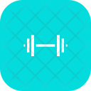 Weightlifting Weight Barbell Icon