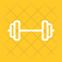 Weightlifting Dumbbell Fitness Icon