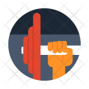 Weightlifting Sport Game Icon