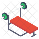 Weightlifting Desk Icon